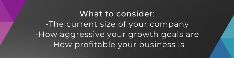 marketing budget as a percentage of revenue considerations