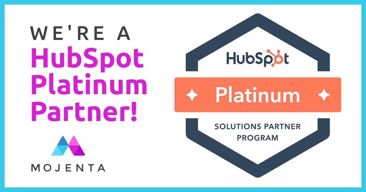 Mojenta Earns Platinum Distinction with HubSpot